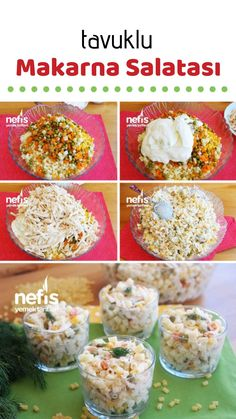 Video lecture Pasta Salad with Chicken Yogurt Recipe - How to make a delicious delicious salad? Salad Dishes, Salad Menu, Crab Stuffed Avocado, Cottage Cheese Salad, Yogurt, Wie Macht Man, Roasted Meat, Vegetable Drinks, Pasta