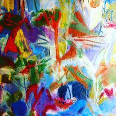 "Steven W Miller oil on canvas appx 44x44"""