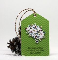 In My Creative Opinion: 25 Days of Christmas Tags 25 Days Of Christmas, Christmas Tag, Christmas Ornaments, Christmas Ideas, Tag Design, Quick Cards, Gift Vouchers, Gift Certificates, Congratulations