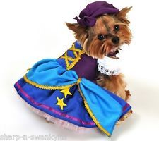 Animal Pet Dog Cat Gypsy Pirate Party Halloween Fancy Dress Costume Outfit XS-XL