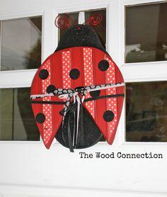 Ladybug Door Hang