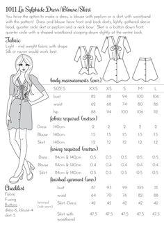 La Sylphide Blouse/Dress/Skirt | Papercut Patterns