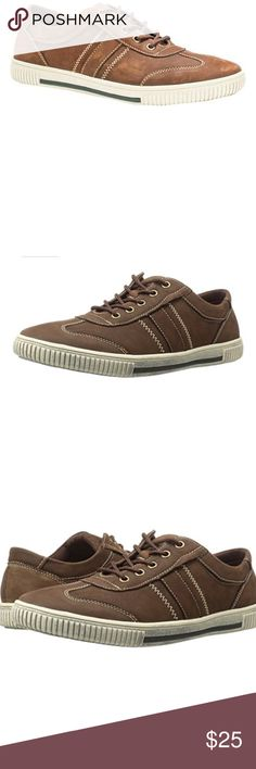 Muk Luks Men's Nick Shoes Fashion Sneakers Style Athletic Sneakers US Shoe Size (Men's) 10 Width Medium (D, M) Material Synthetic Color Coffee Pattern Solid Features     Upper: 100% Cow Leather; Lining: 100% Polyester; Insole: 100% Polyester   Imported   Rubber sole   Men's casual shoe Muk Luks Shoes Sneakers
