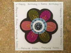 Handmade Felt Cards