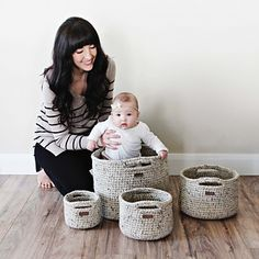 CROCHET PATTERN • Adaptable Basket Pattern • Make Any Size Basket