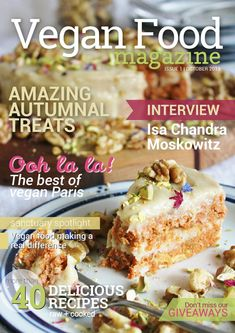 Issuu is a digital publishing platform that makes it simple to publish magazines, catalogs, newspapers, books, and more online. Easily share your publications and get them in front of Issuu's millions of monthly readers. Title: Vegan food magazine - Issue 1 October 2013, Author: Vegan Food Magazine, Name: Vegan food magazine - Issue 1 October 2013, Length: 90 pages, Page: 1, Published: 2013-10-28