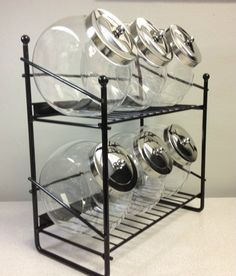 Penny Candy 6 Jar Rack | Acrylic Candy Bins
