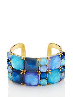 madison ave. collection swan dive wide cuff