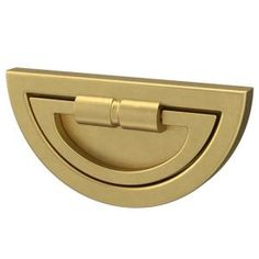 Liberty Notched Backplate 3 in. or 3-3/4 in. (76 mm or 96 mm) Brushed Brass Dual Mount Cup Drawer Pull-P40110C-117-CP - The Home Depot