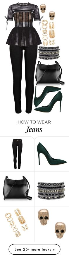 """""""1013."""" by adc421 on Polyvore featuring River Island, Casadei, Kara, Forever 21 and Givenchy"""