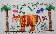 Fall Stitch School: Crewel Embroidery