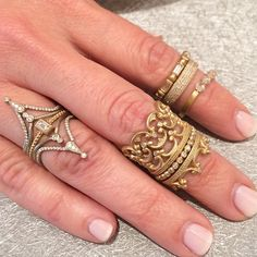 Beautiful new rings by Sofia Kaman