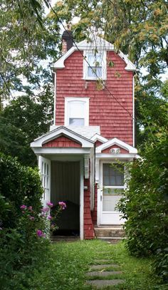 the skinny house tiny red cottage and 3 quotes on simplifying tiny house pins