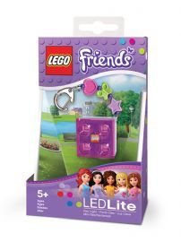 Lego Friends Keylight Keyring With Charms