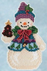 Jim Shore by Mill Hill Winter Series - Pinecone Snowman – Stoney Creek Online Store