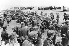 Ju-52 before starting to Crete
