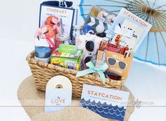 At-Home Vacation Pack- love, love, love this!! #Summer #Travel Staycation Ideas