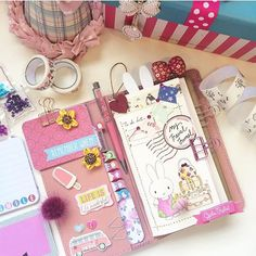 pelle_studio: Planner girls go check it out!I LOVE LOVE ❤️❤️those suitcases ✈️✈️✈and the front pocket in luxe saffiano is a great plus! Kawaii Planner, Cute Planner, Planner Layout, Happy Planner, Kikki K, Planner Stickers, Diary Planner, Cute School Supplies, Planner Supplies