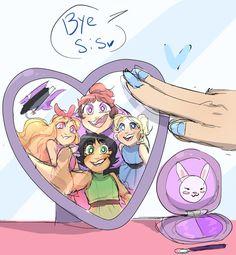 Powerpuff Girls Cartoon, Cartoon As Anime, Cartoon Fan, Cartoon Shows, Character Drawing, Character Design, Power Puff Girls Z, Power Girl, Different Drawing Styles