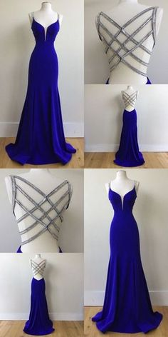graduation vestidos Royal Blue Prom Dress For Teens, Prom Dresses, Graduation School Party Gown, Royal Blue Prom Dresses, Cute Prom Dresses, Backless Prom Dresses, Dance Dresses, Ball Dresses, Elegant Dresses, Homecoming Dresses, Beautiful Dresses, Ball Gowns