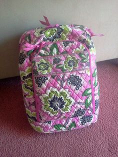 Vera Bradley backpack:D