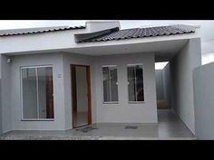 Duplex House Plans, Small House Plans, Bungalow House Design, Small House Design, Rio Grande, Sas Entree, Bedroom Ideas For Small Rooms Diy, Modern House Facades, House Extension Design