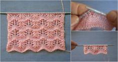 Dalgalı Ajur Örgü Yelek Modeli Outdoor Blanket, Two Piece Skirt Set, Origami, Knitting Patterns, Tricot, Knitting, Dots, Tejidos, Baby Knitting