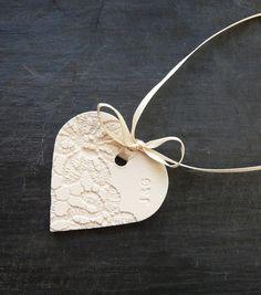 Personalised Ceramic Wedding Favors £2.50