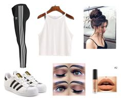 """Untitled #19"" by didemm22 on Polyvore featuring adidas Originals"