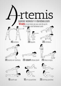Artemis Workout Yoga Fitness - http://amzn.to/2hmQneS
