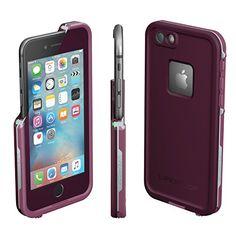 "Lifeproof FRE SERIES iPhone 6/6s Waterproof Case (4.7"" Version)-CRUSHED (STOMP PURPLE/PADDLE PURPLE/SKY FLY BLUE)"