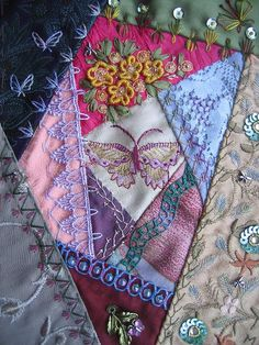 AA page to fill up my fabric-book. by Margreet from Holland, via Flickr