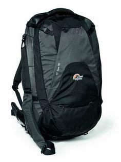 Lowe Alpine TT Tour 70 Adjustable Travel Pack (Graphite/Phantom Blk): Clothing