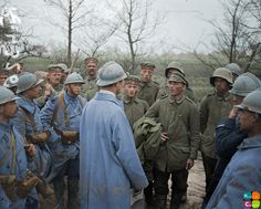 German prisoners who surrended on the Somme. April 1918. Notice how thin the prisoners are; Rations had been dramatically reduced at the end of the war.