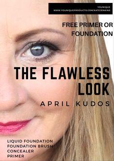 April Kudos!! $129 AUD gets you Liquid foundation, foundation brush, Primer & Concealer!!!!
