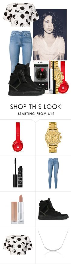 """""""- Alessia Cara -"""" by marvelfaith ❤ liked on Polyvore featuring Beats by Dr. Dre, Lacoste, NARS Cosmetics, adidas and Être Cécile"""