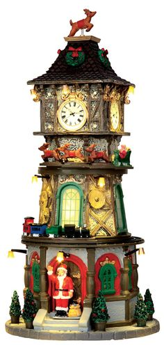 Nice clock tower with animatronic display parts to it. Make doors open and figures come out as well.