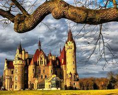 Castillo de Moszna (Moszna Zamek), Polonia