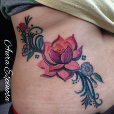 Lotus flower done in my good friend Laura! She is the best