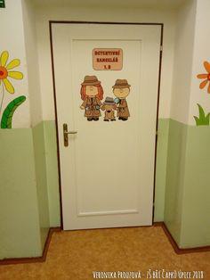 Detektivní kancelář 1.B - ZŠ Bří Čapků Úpice - dveře do třídy. Petra, Teaching Ideas, Classroom, Decor, Decoration, Decorating, Dekorasyon, Dekoration, Home Accents