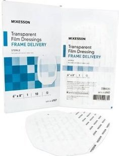 McKesson Transparent Dressing 6 X 8 Inch  BX10 *** Want to know more, click on the image.