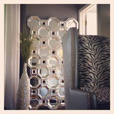 Z Gallerie's Axis Floor Mirror