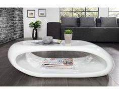 Stolik kawowy Spazio 100 cm biały