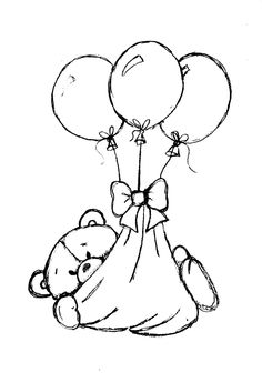 Little Scraps of Heaven Designs: Here's a NEW FREE digi stamp I wanted to share. Bear Coloring Pages, Coloring For Kids, Adult Coloring Pages, Coloring Books, Baby Motiv, Mo Manning, Copics, Baby Cards, Embroidery Patterns