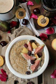 coconut cream chai porridge