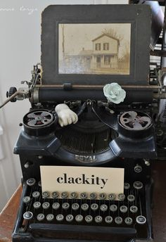 going to do this with my old typewriter when I finally get it out on display