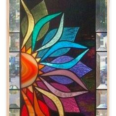 Glass Art Sculpture Glass Art Diy Things To Glass Wall Art, Stained Glass Mosaic, Glass Painting Designs, Glass Painting, Glass Design