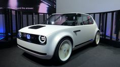 "After a string of boring silver suppositories calling themselves ""concept cars"" at the 2017 Frankfurt Auto Show, Honda's Urban EV concept is like a slap in the face with your favorite sandwich: surprising, but delightful. It's an all-new electric platform for Honda, though the character and look are clearly based on the first-generation Honda Civic. I love it."