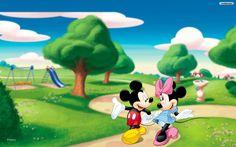 Mickey @ Minnie | Mickey and Minnie Wallpaper 1440x900 (105 KB)