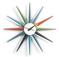 Výsledek obrázku pro VITRA nástěnné hodiny Sunburst Clock